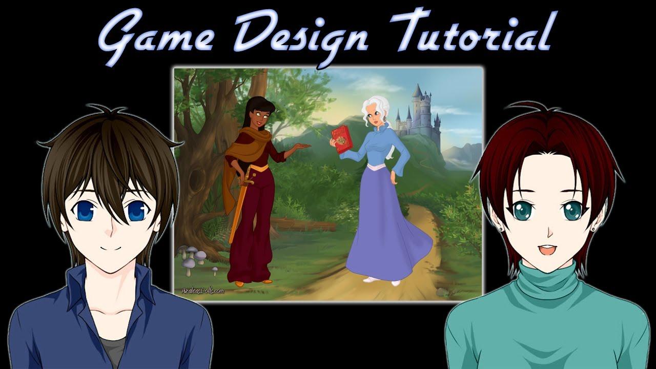 Game Character Design Tips : Game design tutorial character development tips rpg maker youtube