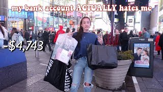 *GIANT* $5,000 SHOPPING SPREE IN NYC