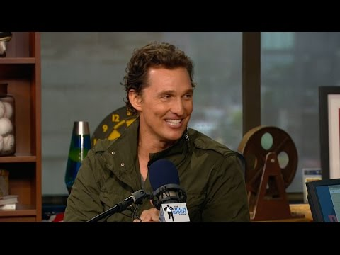 """Actor Matthew McConaughey of New Film """"Free State of Jones"""" Joins The RE Show in Studio - 6/22/16"""