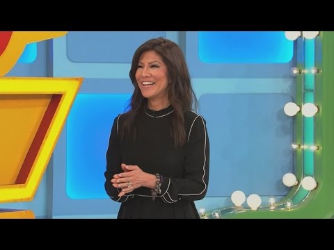 EXCLUSIVE: Watch Julie Chen Become A 'Price Is Right' Model For A Day!
