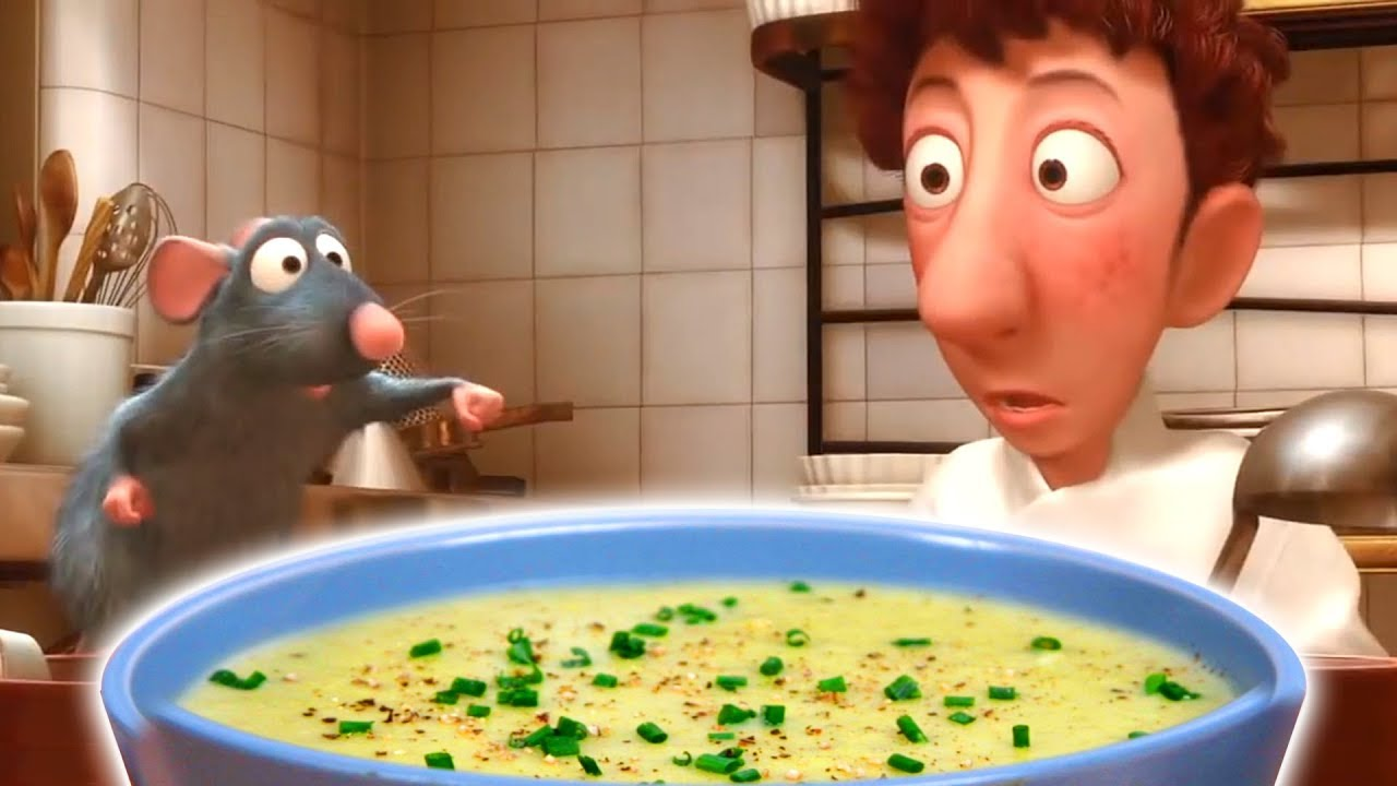 How To Make Potato Leek Soup From Ratatouille Feast Of Fiction Youtube