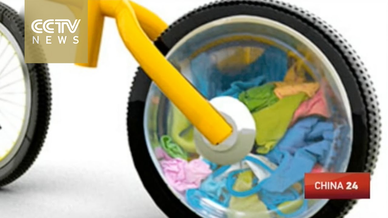 Bike Washing Machine >> Students Create Bike Washing Machine Youtube