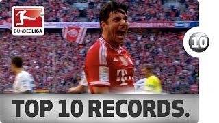 Top 10 Most Impressive Records in Bundesliga History