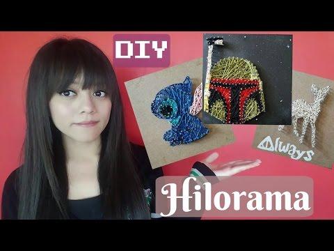 DIY String Art / Hilorama / Yiizelda ♥
