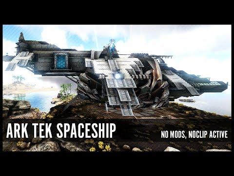 Ark Tek Spaceship, PvE Concept Build, No Mods