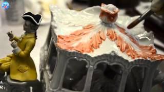 видео Роспись фарфоровых изделий Мейсен