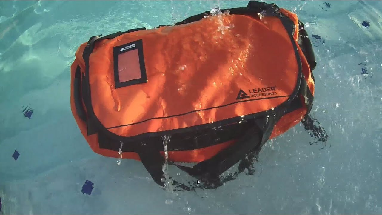 Leader Accessories Dry Duffel Review - YouTube 92fade122aa4d