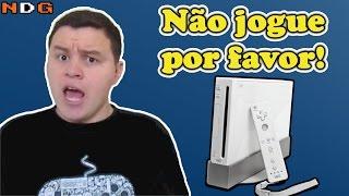 Jogos do Nintendo Wii pra você não jogar