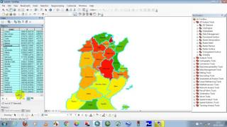 How to Calculate Polygon Area in ArcMap Calcul surface  ArcGis