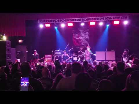 Buckcherry 3-17-19 diesel concert theater  head like a hole cover