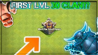 WORLD FIRST *LEVEL 30 CLAN*??😱😱 REAL OR FAKE| STRANGE PLAYERS/CLAN IN COC HISTORY | CLASH OF CLANS