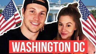WASHINGTON DC!! FIRST STOP ON OUR ADVENTURE OF A LIFETIME! | Shawn + Andrew