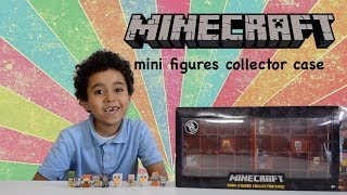 Minecraft Minifigures Collector Case - Series 6 | Happy Kid TV