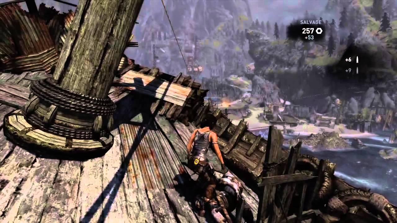 Tomb Raider 2013 Gameplay Walkthrough Part 28 Shipwreck Beach