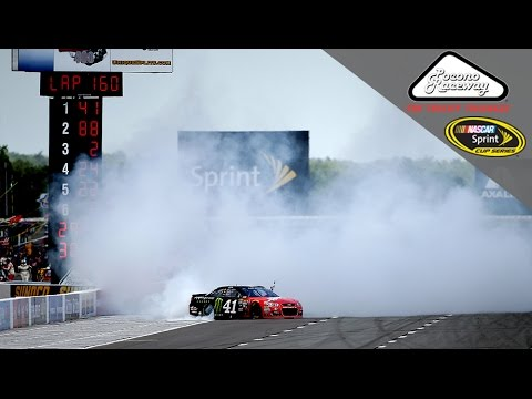Kurt Busch wins at Pocono with interim crew chief