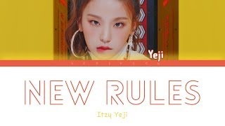 ITZY YEJI - New Rules (Dua Lipa Cover) (Color Coded Legendado ENG/PT-BR)