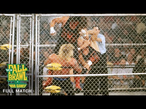 FULL MATCH - Team WCW vs. nWo Hollywood vs. nWo Wolfpac - WarGames Match: WCW Fall Brawl 1998