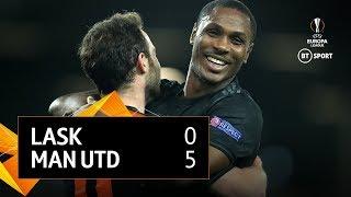 LASK vs Manchester United (0-5) | UEFA Europa League Highlights