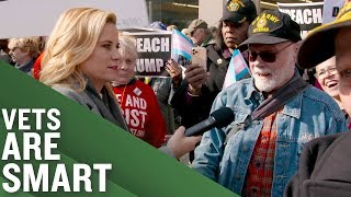 Will Trump Get Booed? Veterans Edition! | Full Frontal on TBS