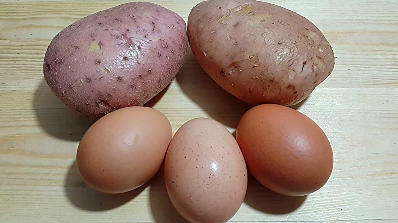 ستعشق أكل البيض والبطاطس بعد معرفتك هذه الطريقة لطهيه