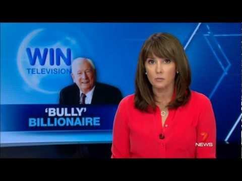 Seven  Sydney  Bruce Gordon is a 'Bully Billionaire' 2732013