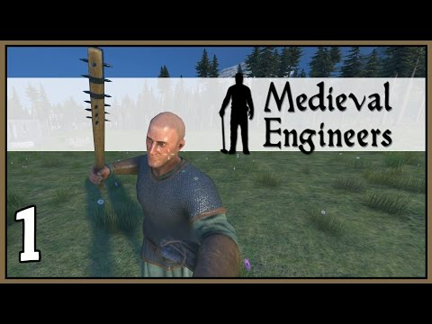 Barbarian - Medieval Engineers Survival Gameplay - Part 1 [Let's Play Medieval Engineers]