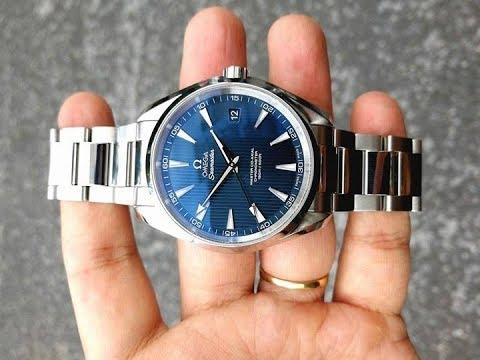 Omega Seamaster Aqua Terra Master Co axial Blue dial 23110422103003