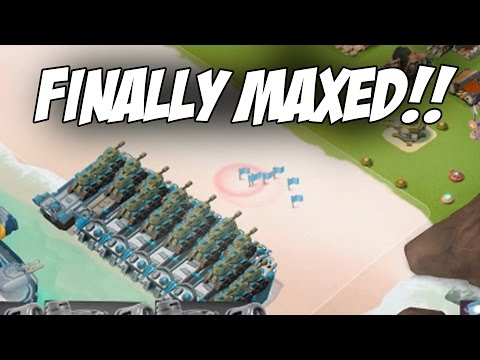 FINALLY HAVE THESE MAXED! - Crazy Attacks | Boom Beach