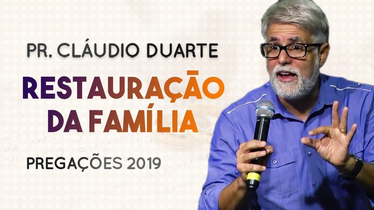 Pastor Cláudio Duarte - Restauração da Família | Palavras de Fé