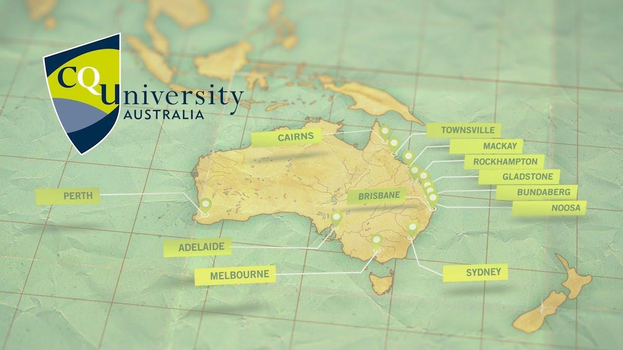 cqu bundaberg campus map Welcome To Cquniversity Australia Youtube cqu bundaberg campus map