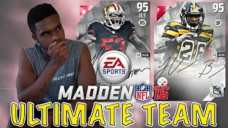 CAMPUS HERO PACKS AND NEW SIGNATURE PACK OPENING!!! - Madden 16 Ultimate Team