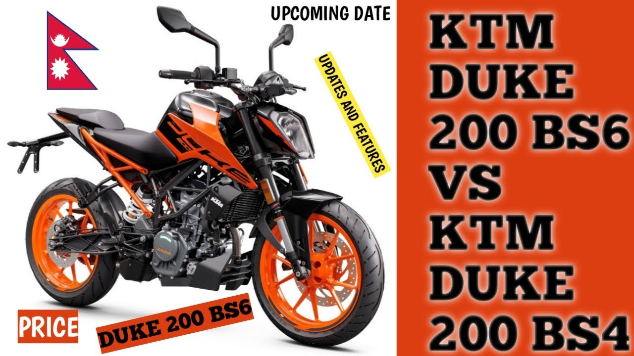 Ktm Duke 200 Bs6 2020 In Nepal Price And Launching Date