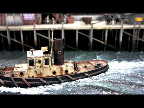 Vessels on Troels Kirk's On30 Coast Line RR