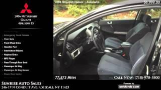 Used 2006 Mitsubishi Galant | Sunrise Auto Sales, Rosedale, NY