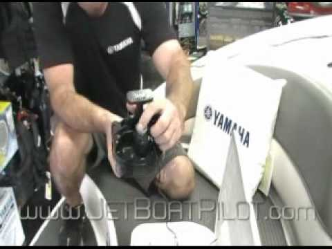 Yamaha Jet Boat Clean Out Plug Installation Technique