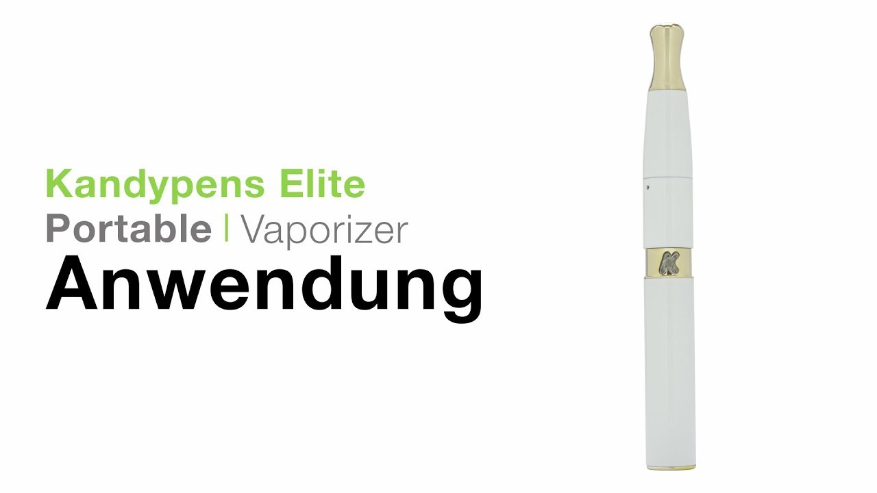 KandyPens Elite Wax Pen Vaporizer Verdampfer Anwendung - TVape