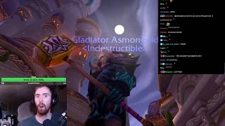Asmongold Gets His Blessed Battlegear of Undead Slaying Set Restored by a GM thumbnail
