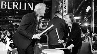 Wes Anderson and Bill Murray on the drums | Berlinale 2018