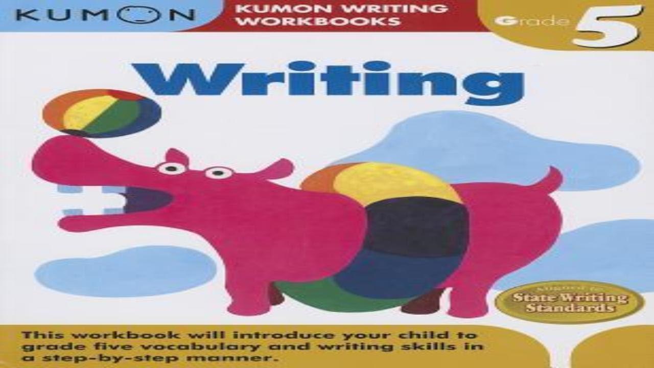 kumon writing grade 4 pdf
