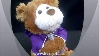 Justin Bieber Singing Bear