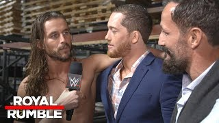 Adam Cole shocked the system at Royal Rumble 2018: Exclusive, Jan. 28, 2018