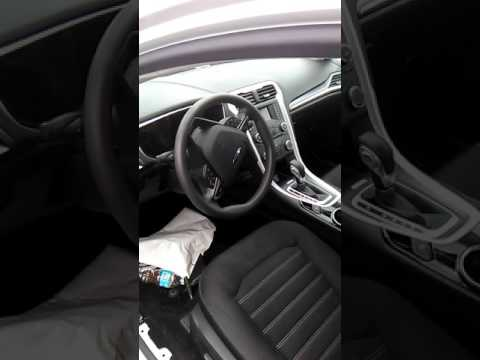2013 Ford fusion driver air bag removal