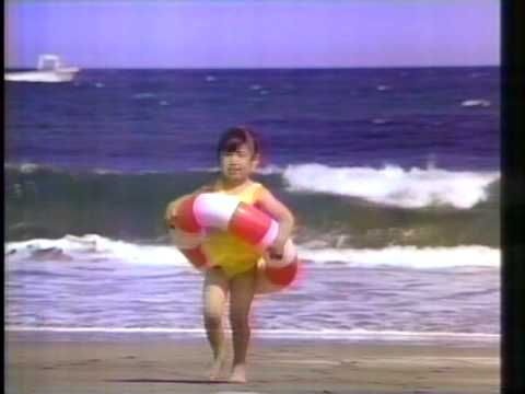 新幹線で行く少女の夏休み。「梅雨」「海」「夜道」「昼寝」「夏の終わり」の5パターンを続けてどうぞ。(1991~92年頃)