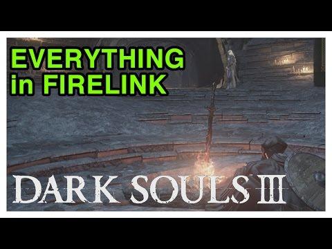All of Firelink Shrine's Secrets - Dark Souls 3 Tips & Tricks