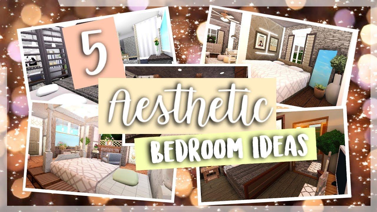 Roblox    Bloxburg: 5 Aesthetic Bedroom Ideas    Part 2 ...