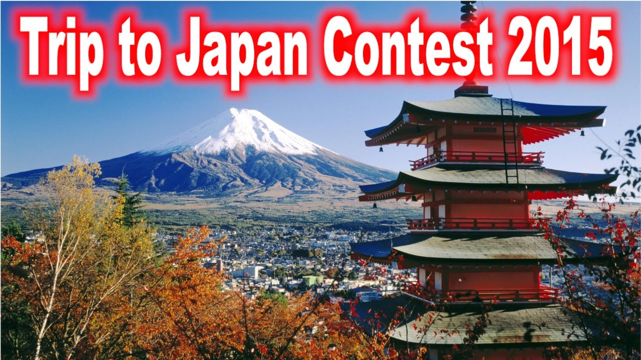 Free trip to japan contest