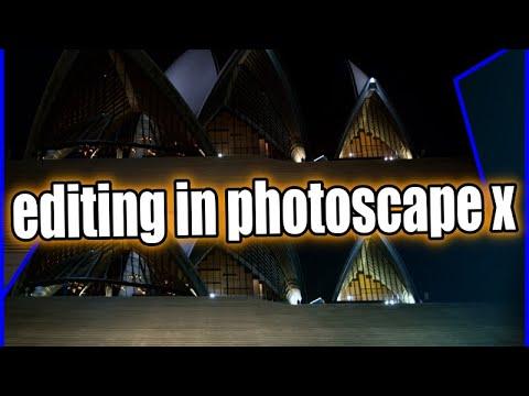 Best Free Photo Editor Photoscape X