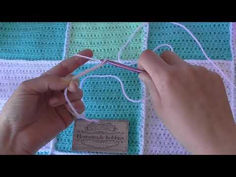 Learn To Crochet A Foundation. Chain U.K video tutorial