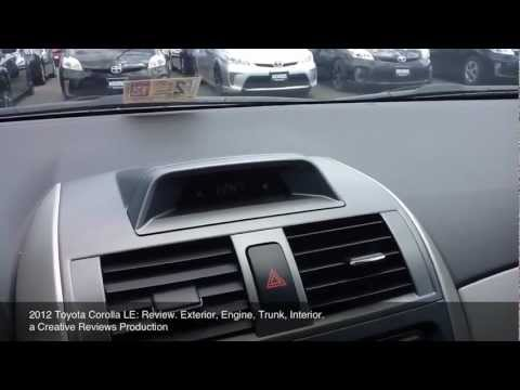 2012 Toyota Corolla LE: Review
