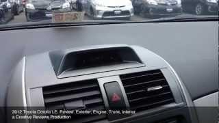 Toyota Corolla 2012 Videos